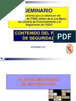 2_Plan de Seguridad en Defensa Civil_SEMINARIO