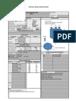 Vessel Datasheet