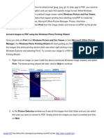 Convert images to pdf with novaPDF