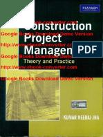Construction Project Management by Kumar Neeraj Jha