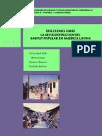 Reflexiones Sobre La Autocosntruccion Del Habitat Popular en America Latina