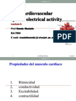 Physiology 1 -Lecture 6 Cardiovascular Electrical Activity