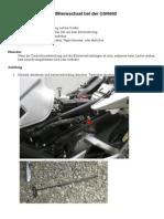 GSR600-Luftfilter tauschen