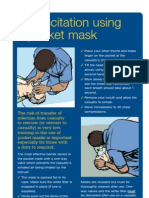 Pocket Mask Resuscitation