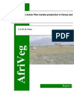 Tomato Action Plan Production in Kenya and Tanzania