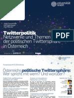 TwitterPolitik - Studie - österreichische Polit Twitter Szene wiss. erkundet