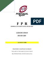Leis Do Jogo- Ago 2008