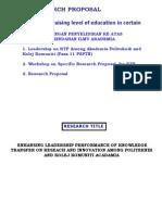 Proposal Program Politeknik Dan Kolej Komuniti AKEPT