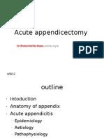 Acute Appendicitis