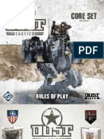 Dust Tactics Rulebook