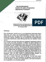 Das Schafkopfspiel - Kernkompetenz für jeden erfolgreichen bayerischen Forstmann