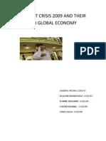Dubai Debt Crisis 2009 and Their Impact on Global Economy