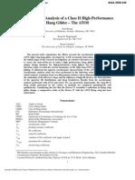 Aerodynamic Analysis of a Class II High-Performance Hang Glider