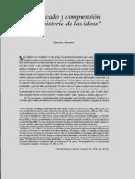Skinner Quentin x Significado Y Comprension en La Historia de Las Ideas