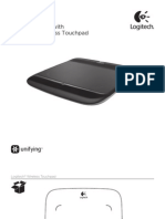 Wireless Touchpad Quick Start Guide