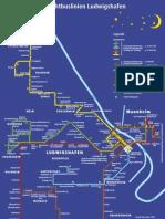 Liniennetzplan LU Nachtbusse Ludwigshafen