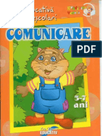 Carte Educativa de Comunicare 5-7 Ani