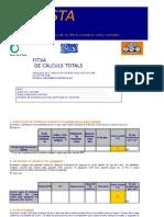 l'Aposta en Excel Formulari Bona