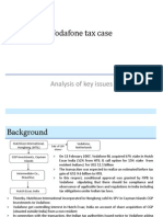 Analysis of Vodafone Tax Case