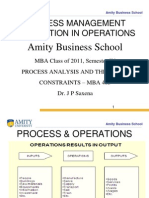 1) Process Management & Operations