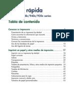 Manual Hp Deskjet 920c