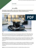 Los diez mejores cafés - ABC.es