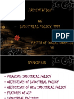 Industrial Policy,1991