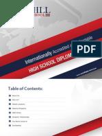 McHill High School Student Brochure