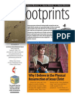 April 2012 Footprints Newsletter