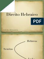 Hebreus-história do direito