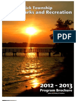 2012 - 2013 Parks and Recreation Program Brochure