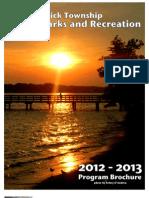 2012 - 2013 Parks and Recreation Program Brochure