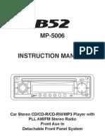 Manual B52 MP-5006