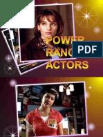 Power Rangers Actors