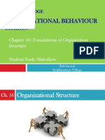 OB - Chapter 16 Organizational Structure
