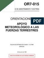 Ejercito Español - OR7-015 Apoyo Meteorologico