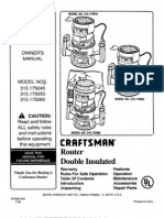 Craftsman Router 315.175040