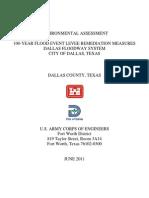 0-Dallas Levees EA USACE 06-2011