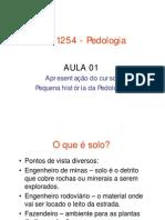 FLG 1254-Pedologia Aula 01