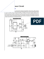 Ultrasonic Sensor Circuit