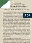 Francisco Bilbao en el Perú - David Sobrevilla