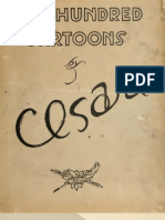 One Hundred Cartoons by Cesare