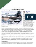 Fondations_ gare au décoffrage hâtif | Gilles Angers | Habitation