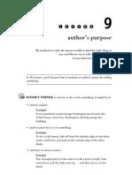 S2 - Lesson 9 (Authors Purpose)