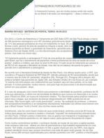 TRATAMENTO GRÁTIS A ESTRANGEIROS PORTADORES DE HIV