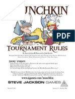 Munchkin Tournament Rules