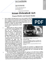 Issue-Oriented Art-For Reading Academic Assignment 1