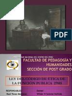 LEY CÓDIGO DE ÉTICA.uncp