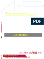 defensinas gingivales
