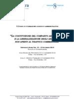 Leonardo Di Paola partecipa al Corso di Formazione Giuridico-Amministrativa all'Università Roma Tre